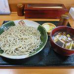 蕎屋 きよ福 - 料理写真:かしわせいろ(800円)