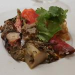 フルタ - とこぶしの紹興酒煮、くらげ、ミルクチキン、蛸、ローストビーフ