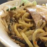 滋賀石山TOMOにぼ次朗 - 料理写真:塩次朗  野菜ちょいマシ
