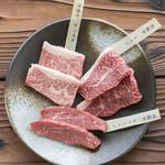 淡路牛の希少部位ステーキ3種(数量限定)