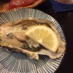 70169734 - 2017年7月中旬 北海道の生牡蠣。
