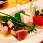 博多金鯖 - 【HKBセット(1000円)】※飲み物1杯、本日の刺身、串焼き3種