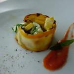 ソリス アグリトゥーリズモ - モッツァレラブッファラと三浦野菜のサラダ仕立て