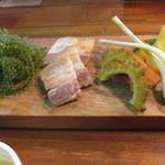American Diner A Sign - 沖縄三種盛り