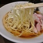 麺屋りゅう - 村上朝日製麺(淡麗冷やしそば)