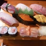 大阪屋寿司店 - にぎり特上