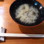大阪屋寿司店 - みそ汁