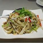 中国料理 喜羊門 - つぶ貝とネギ和え