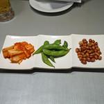 中国料理 喜羊門 - お通し