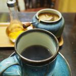カフェハイチ - コーヒー(ブランデーとブラウンシュガー入れるスタイル)