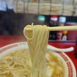 有楽タンメン - 2017.07 麺はストレートの細麺