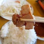 地鶏食堂 - 脂選別特ももψ(`∇´)ψ