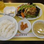 武夷菜館 - 料理写真:豚肉キクラゲ炒め ¥740+税