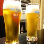 70180613 - 生ビールはプレモルエール(\390)