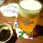 アルコバレーノ - ◆生ビール、お通し