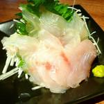 アルコバレーノ - ◆獲れたて活き〆天然真鯛のお刺身