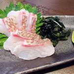 阿波膳ODORI - 鳴門鯛のお造り