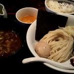 我流家 - 料理写真:つけ麺定食にしました(1,000円)。