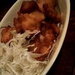 我流家 - つけ麺定食にしました(1,000円)。