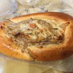 モンタボー - シャキシャキごぼうのちくわパン