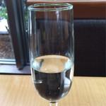 70182973 - これが食前酒。東北だからりんごの味。