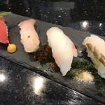 70184174 - 県産魚の食べ比べ