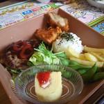 ステーキハウス ブロンコ ビリー 宝塚店 - おこさまハンバーグセット
