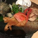 70186485 - 前菜三種盛り(980円)