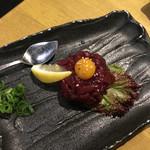 70187563 - 馬肉ユッケ(880円+税)