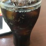 インドカレー ナマステ - 暑さに我慢出来ずコーラを頼んでしまいました