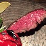 AWkitchen TOKYO - ステーキのアップ