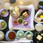 京料理 三門 - 花かすみ膳¥2000+税、華ごよみ膳よりも品数が多い印象。