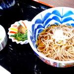 自然薯とそばの店 高尾の桜 - 天丼に付属の蕎麦♪♫