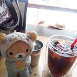 ムームーコーヒー - パナマ産のアイスコーヒー