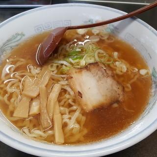がんばり屋 - 料理写真:醤油ラーメン