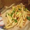 ファーストキッチン - 料理写真:パクチー&レモン味ポテト 280円