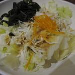 焼肉五苑 - 「焙煎ごまサラダ:ハーフ」