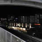 焼肉五苑 - 古島駅から見えます:左の奥がレストラン棟