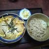 しゅん助 - 料理写真:かつ丼せっと おそば付1100円