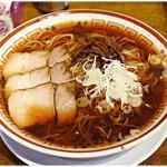 中華そば つし馬 - 冷し煮干しそば 800円 ビシっと味の引き締まった冷製ニボラーメン♪