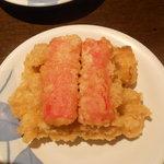 なごみ - ちくわとカニカマの天ぷら
