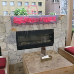 ハイライフ ポーク テーブル - お洒落なテラス席2