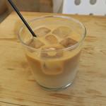 ハイライフ ポーク テーブル - アイス・カフェラテ