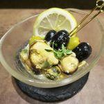 グラシア - ◆ムール貝とオリーブのさわやかレモンマリネ 380円