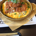 元町珈琲 - 三元豚カツの卵とじドリアすだちおろし添え 990円^_^