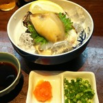 かぶら亭 - 岩がき(800円)