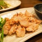 春来 - 鉄板焼き(白肉)