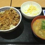 70208939 - 牛丼(並)とん汁Aセット 640円♪