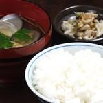 レストラン 酔牛亭 - 御飯セット
