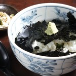 レストラン 酔牛亭 - 海苔茶漬